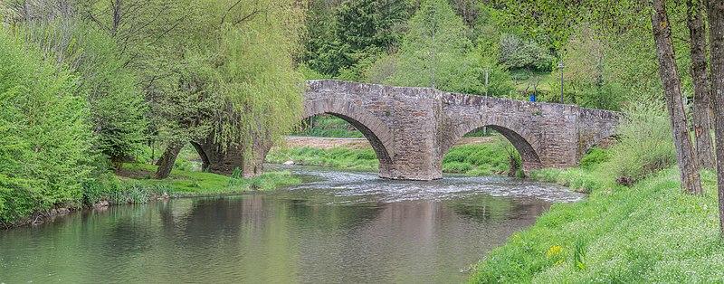 Photo du Monument Historique Pont de La Guioule-sous-Rodez situé à Rodez