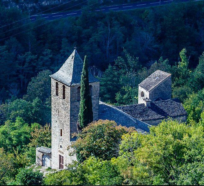 Photo du Monument Historique Eglise Notre-Dame-des-Treilles situé à La Roque-Sainte-Marguerite