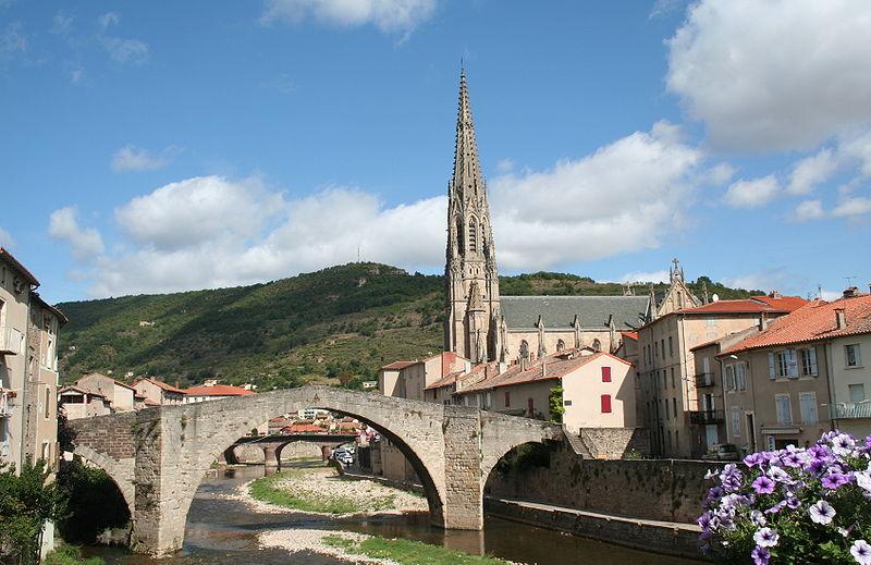Photo du Monument Historique Pont situé à Saint-Affrique