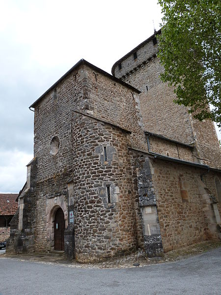Photo du Monument Historique Eglise situé à Sainte-Croix