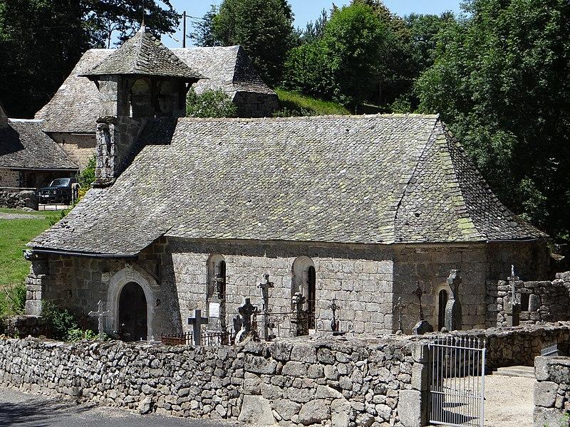 Photo du Monument Historique Chapelle de Mels situé à Sainte-Geneviève-sur-Argence