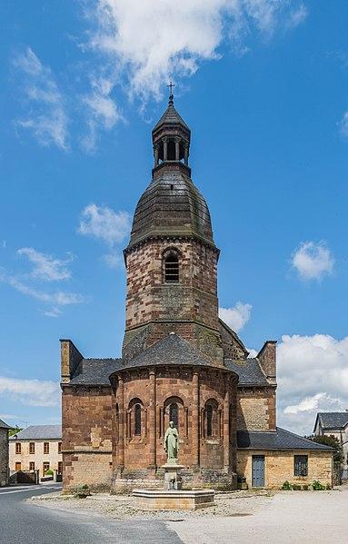 Photo du Monument Historique Eglise Saint-Saturnin situé à Saint-Saturnin-de-Lenne