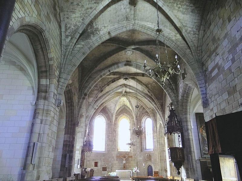Photo du Monument Historique Eglise situé à Saint-Sernin-sur-Rance