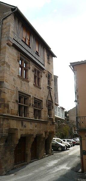 Photo du Monument Historique Ancien hôtel de ville situé à Saint-Sernin-sur-Rance
