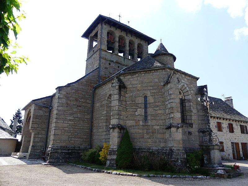 Photo du Monument Historique Eglise situé à Saint-Symphorien-de-Thénières