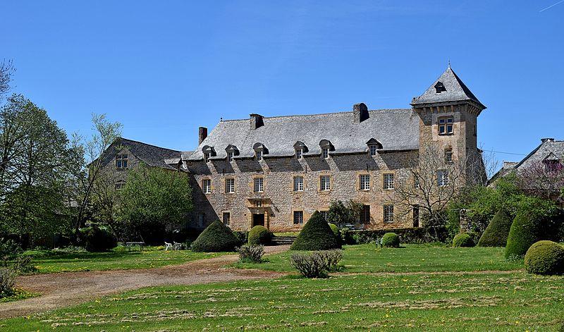 Photo du Monument Historique Château de la Garde situé à Salles-la-Source