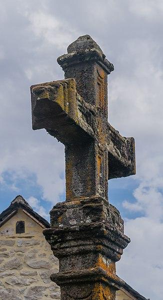 Photo du Monument Historique Croix datée de 1789 situé à Salles-la-Source