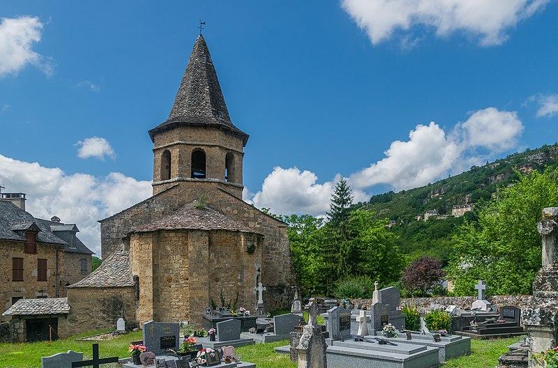 Photo du Monument Historique Eglise du Bourg situé à Salles-la-Source