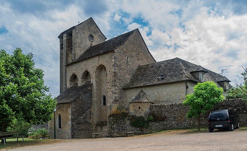 Photo du Monument Historique Eglise de Souyris situé à Salles-la-Source