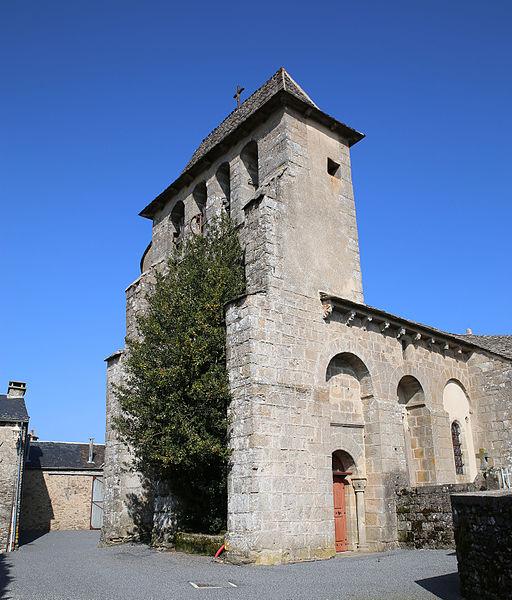 Photo du Monument Historique Eglise de Saint-Etienne de Viauresque situé à Ségur