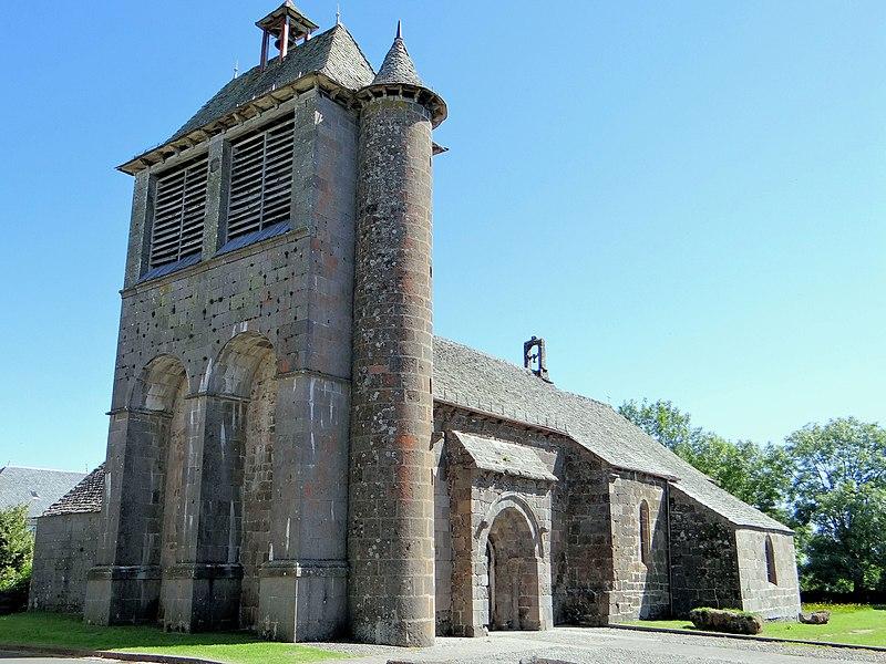 Photo du Monument Historique Eglise Notre-Dame situé à Thérondels