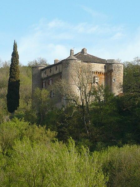 Photo du Monument Historique Château de Montalegre situé à Versols-et-Lapeyre