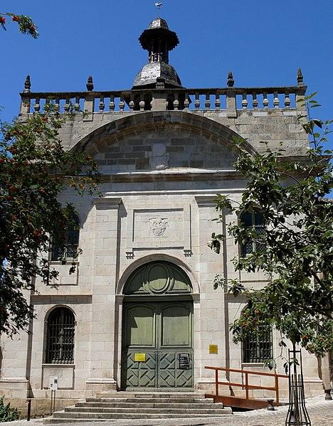 Photo du Monument Historique Chapelle des Pénitents Noirs situé à Villefranche-de-Rouergue