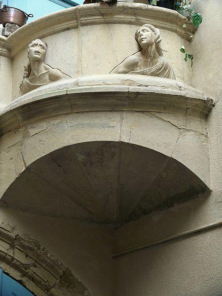 Photo du Monument Historique Maison Renaissance dite maison Bernays ou maison Jean-Imbert de Dardennes situé à Villefranche-de-Rouergue
