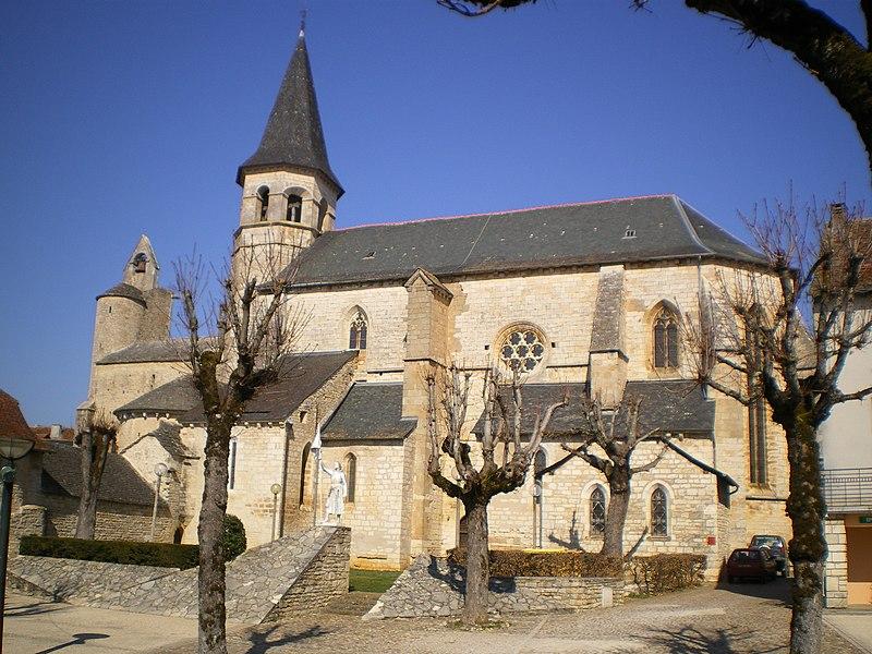 Photo du Monument Historique Eglise du Saint-Sépulcre situé à Villeneuve