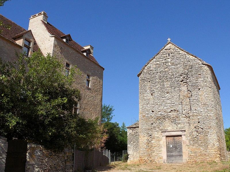 Photo du Monument Historique Ancienne église de Toulongergues situé à Villeneuve