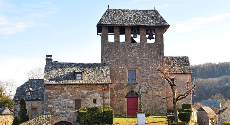 Photo du Monument Historique Eglise situé à Rodelle
