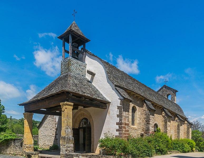 Photo du Monument Historique Ancienne église Saint-Pierre de Boisse ou ancienne église des Pénitents situé à Saint-Côme-d'Olt