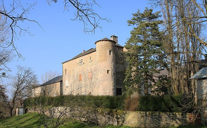 Photo du Monument Historique Château du Méjanel situé à Recoules-Prévinquières