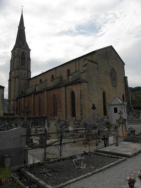 Photo du Monument Historique Eglise (ancienne cathédrale) situé à Vabres-l'Abbaye