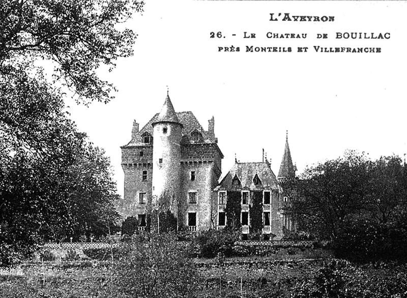 Photo du Monument Historique Château de Bouillac situé à Bouillac
