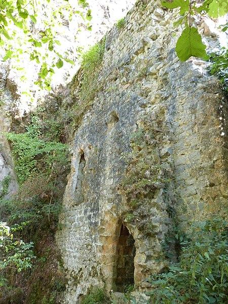 Photo du Monument Historique Ancienne synagogue situé à Peyrusse-le-Roc