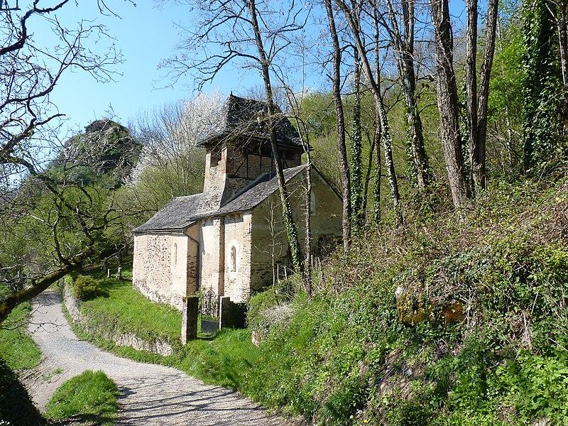 Photo du Monument Historique Chapelle de Servières situé à Villecomtal