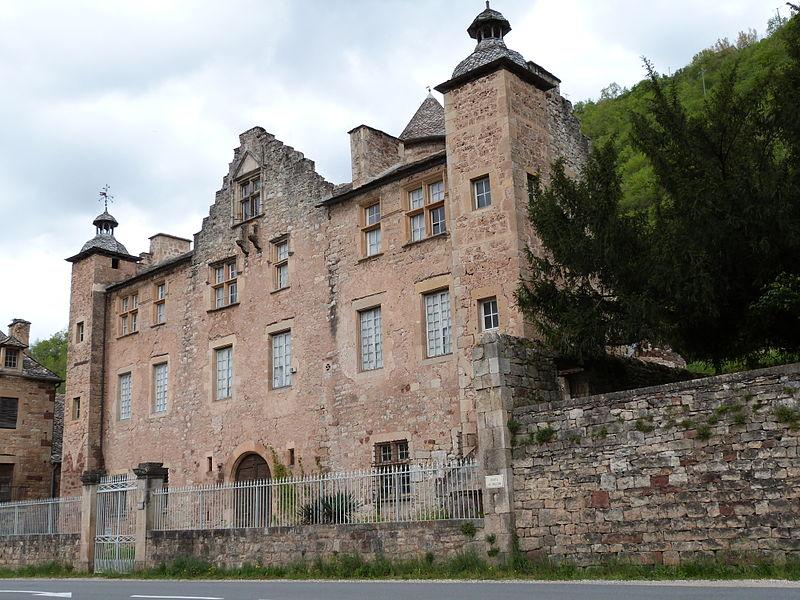 Photo du Monument Historique Château de Cougousse situé à Salles-la-Source