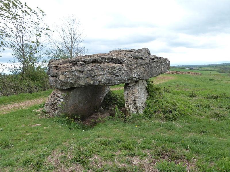 Photo du Monument Historique Site archéologique du dolmen de Pérignagol I situé à Salles-la-Source
