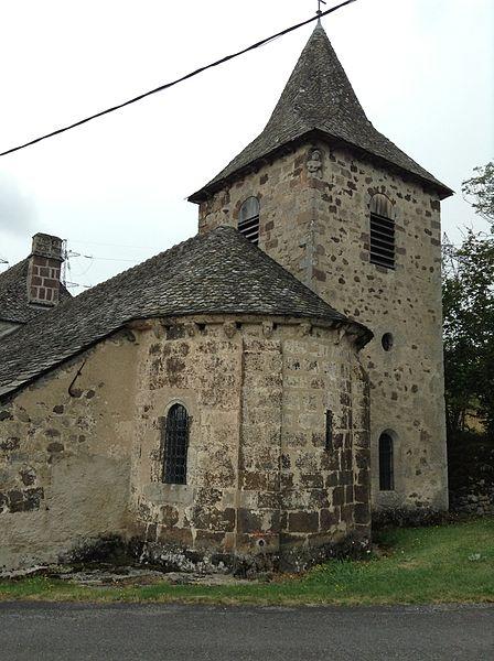 Photo du Monument Historique Eglise Saint-Cyrice et Sainte-Juliette de Rueyres situé à Brommat