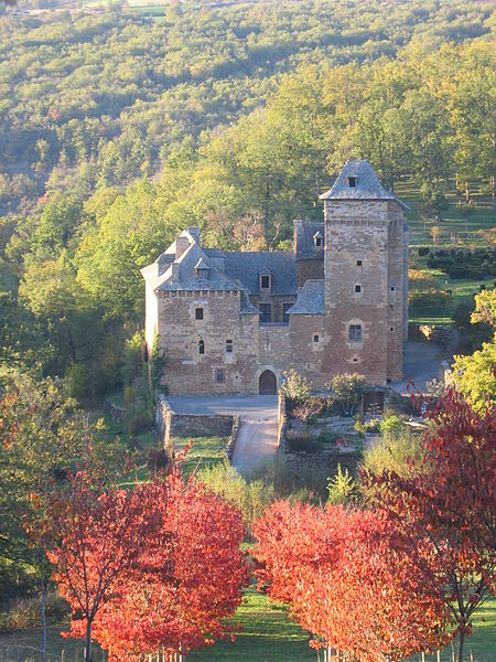 Photo du Monument Historique Château du Colombier situé à Salles-la-Source