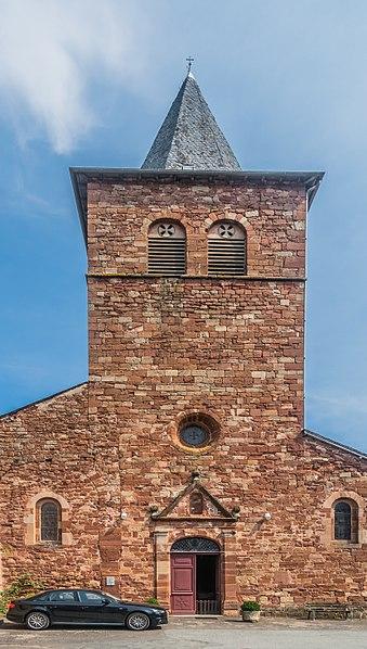 Photo du Monument Historique Eglise paroissiale Saint-Blaise situé à Clairvaux-d'Aveyron