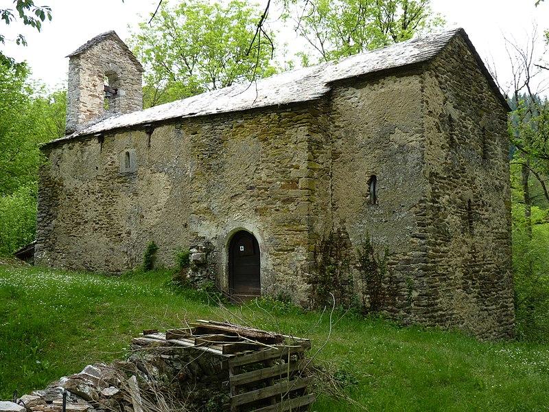 Photo du Monument Historique Chapelle Saint-Clair de Verdun situé à Quins