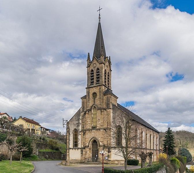 Photo du Monument Historique Eglise du Gua situé à Aubin