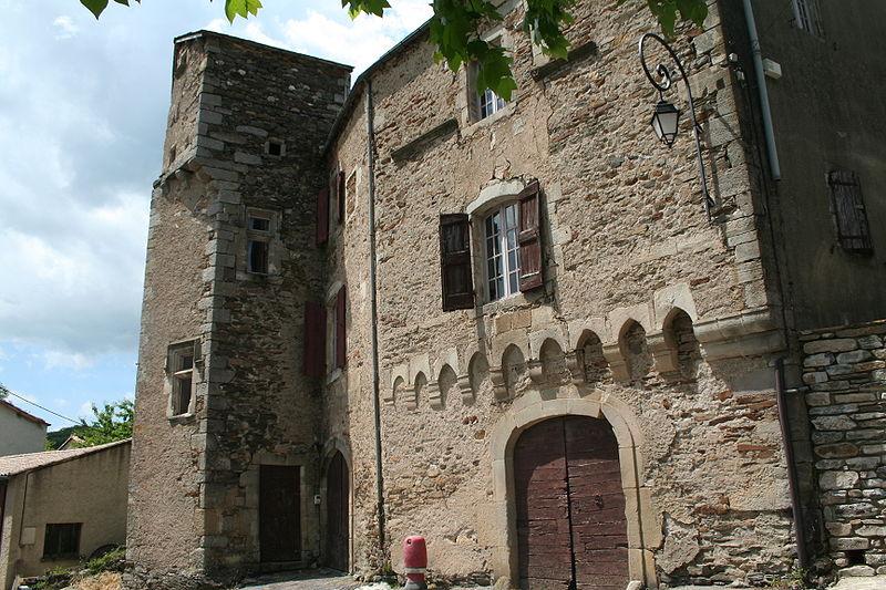 Photo du Monument Historique Château de la Roque situé à Fayet
