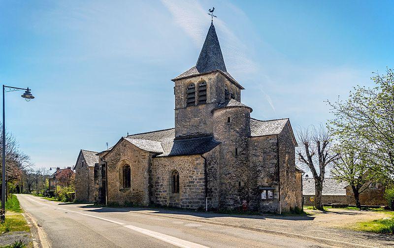 Photo du Monument Historique Eglise Saint-Amans de Cadayrac situé à Salles-la-Source
