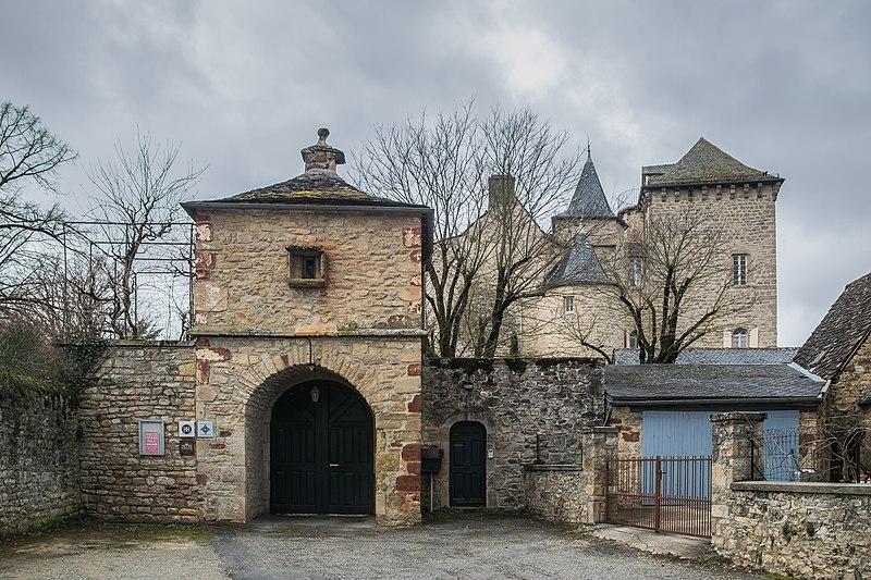 Photo du Monument Historique Château situé à Balsac