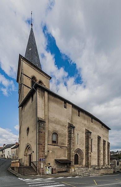 Photo du Monument Historique Eglise paroissiale Saint-Etienne et Saint-Blaise situé à Monastère (Le)
