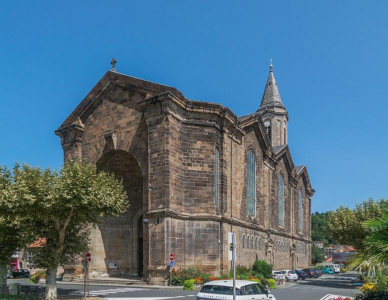 Photo du Monument Historique Eglise paroissiale Notre-Dame situé à Decazeville