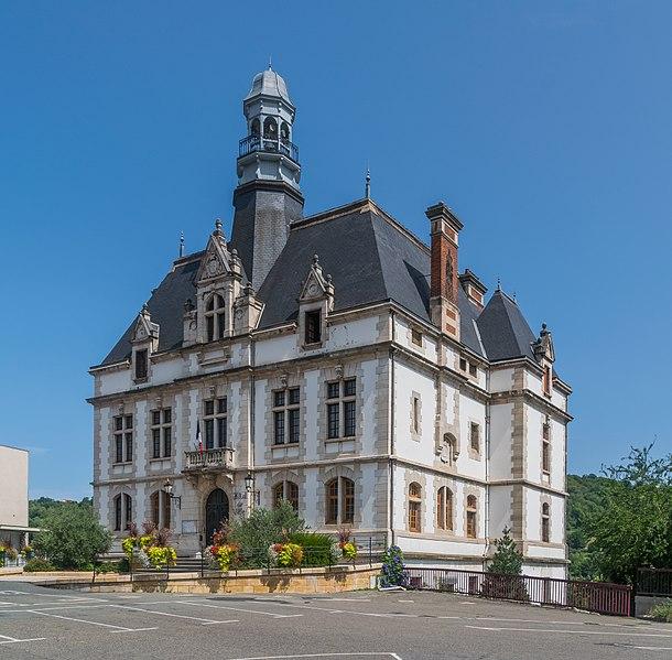 Photo du Monument Historique Hôtel de ville situé à Decazeville