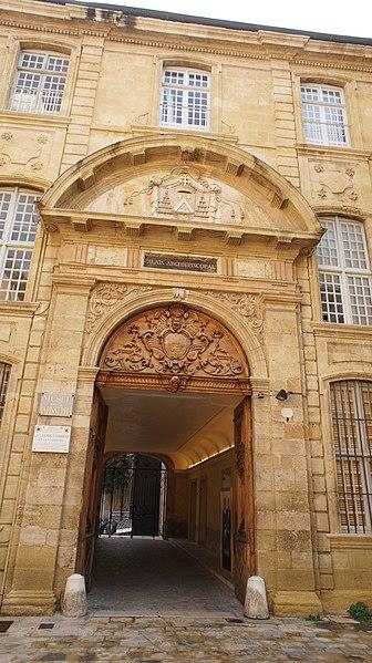 Photo du Monument Historique Ancien archevêché, puis Musée des tapisseries et théâtre situé à Aix-en-Provence