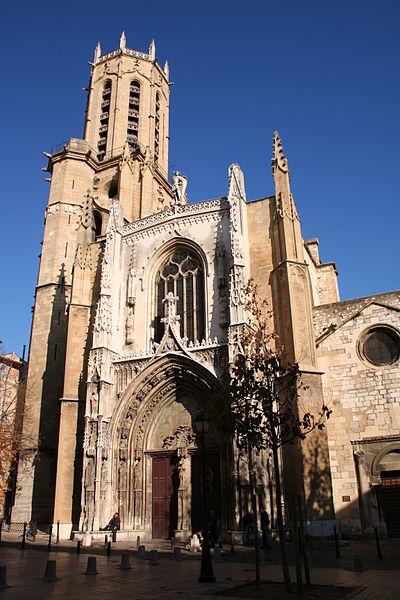 Photo du Monument Historique Cathédrale Saint-Sauveur situé à Aix-en-Provence