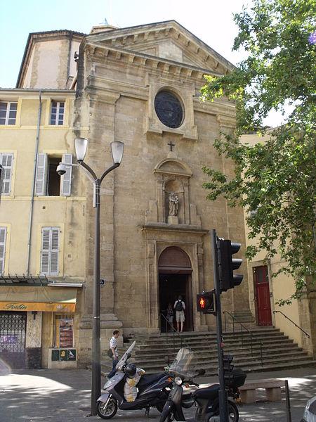 Photo du Monument Historique Ancien couvent des Carmélites, actuel couvent des Oblats situé à Aix-en-Provence