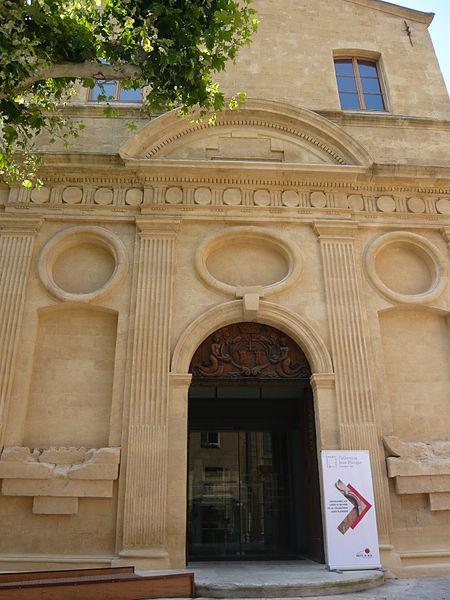 Photo du Monument Historique Chapelle des Pénitents Blancs des Carmes situé à Aix-en-Provence