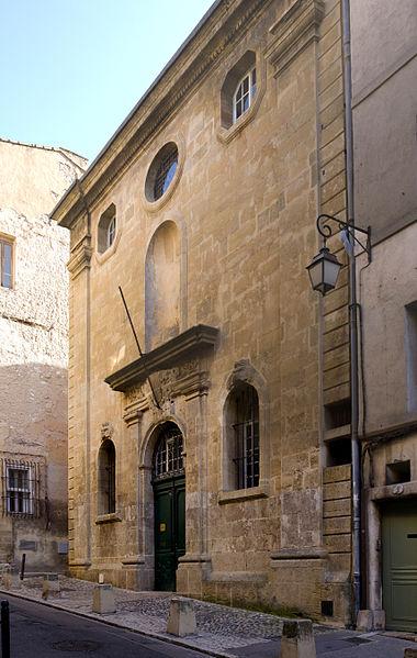 Photo du Monument Historique Chapelle des Pénitents Bleus situé à Aix-en-Provence
