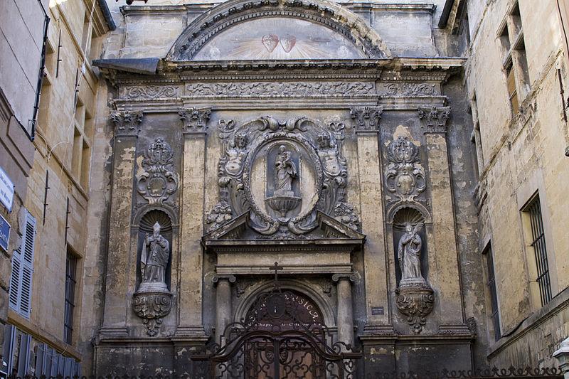 Photo du Monument Historique Chapelle des Ursulines situé à Aix-en-Provence