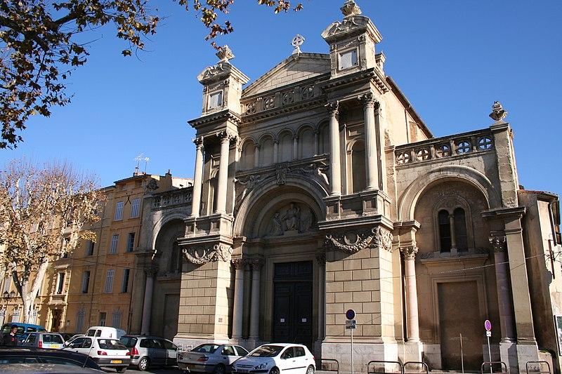 Photo du Monument Historique Eglise de la Madeleine, ou ancienne église des Prêcheurs situé à Aix-en-Provence