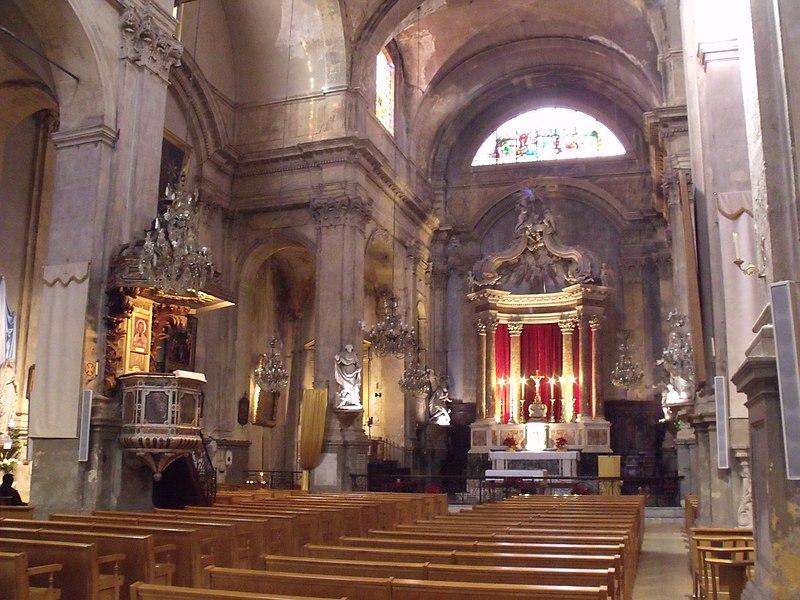 Photo du Monument Historique Eglise Saint-Esprit situé à Aix-en-Provence