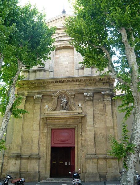 Photo du Monument Historique Eglise Saint-Jean-Baptiste du Faubourg situé à Aix-en-Provence