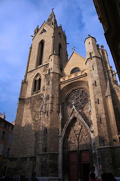 Photo du Monument Historique Eglise Saint-Jean-de-Malte situé à Aix-en-Provence